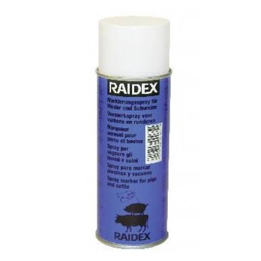 Cattle sign spray Raidex 400 ml, blue