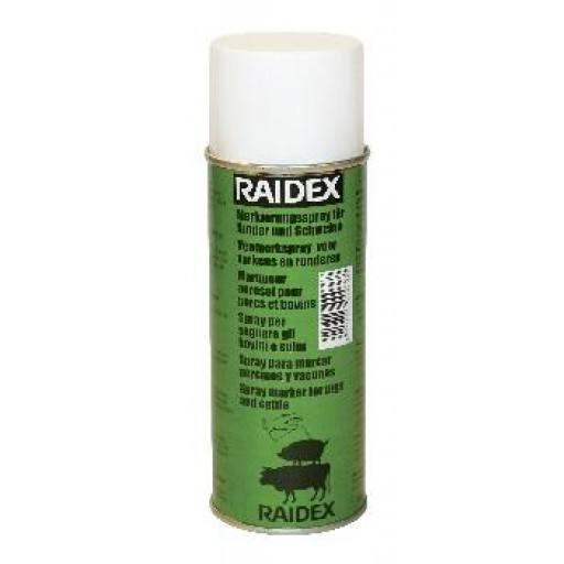Cattle sign spray Raidex 400 ml, green