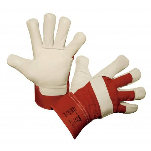 Winter gloves cowhide full leather Icebo, size 10.5 and 12