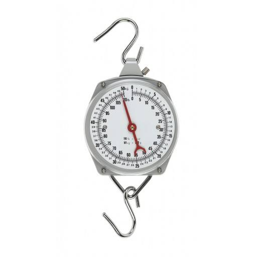 Pointer scale 50 kg, Division 200 grams