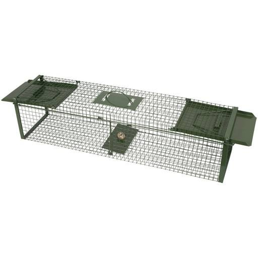 Box case 100 cm length green with two inputs