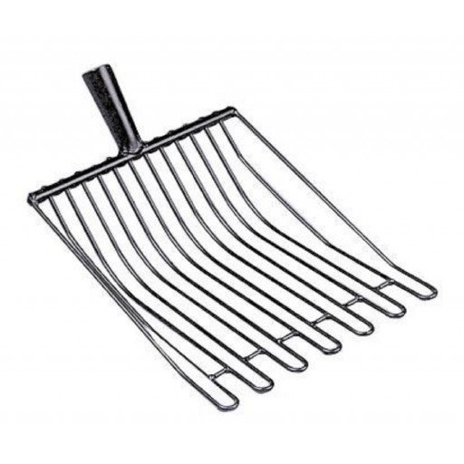 Potato wire fork Victoria, 14 tines, 37 x 32 with duels