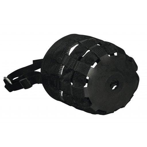 Muzzle, nylon - black for Warmblood