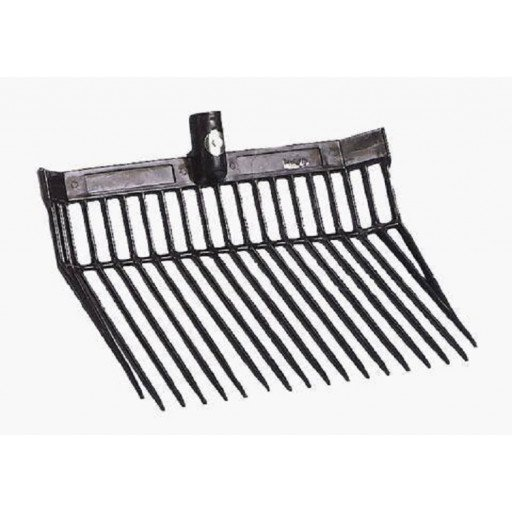 Horse manure fork PVC without metal handle