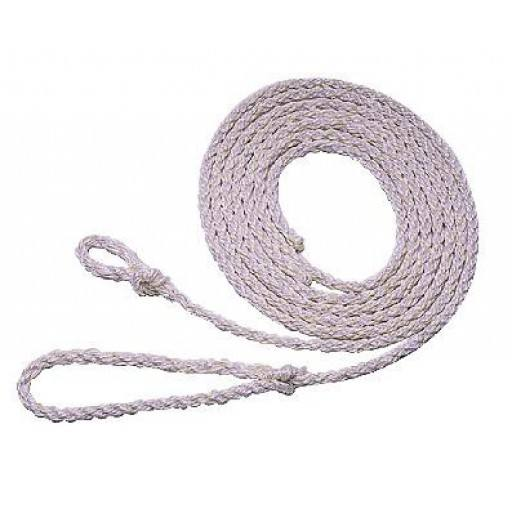 Poly rope 4.00 m, small loop, white