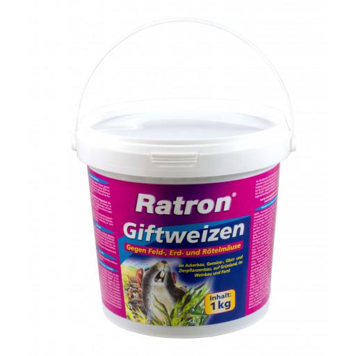Ratron Giftweizen< 0029% 1 kg  Mäuseköder & Rattenköder Frunol Weizenköder