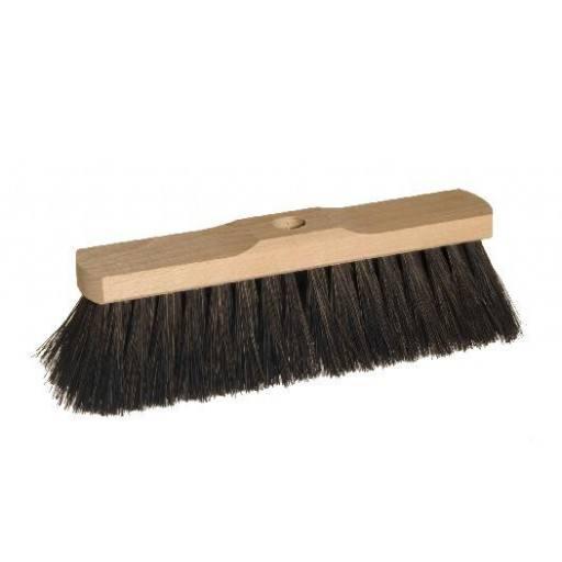 Room broom 30 cm harangue with shaft hole