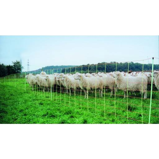 EURO-net extra double-ended 90 cm x 50 m - sheep NET sheep fence, lamb power