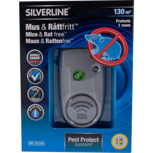 Silverline® Pest Protection system Mausfrei & Rattenfrei 130 m²