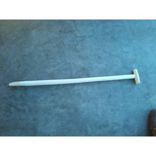 Spade handle, T-handle 100 cm