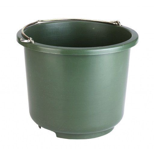 Install buckets and buckets 12 Litre Olive Green