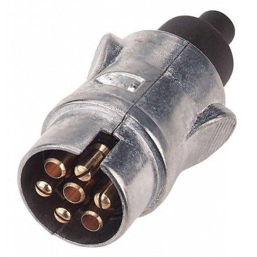 Connector, 7-pole, metal