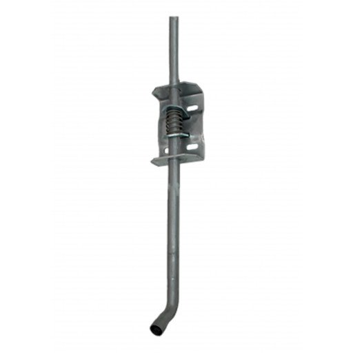 Wall bracket height adjuster, bright zinc-plated