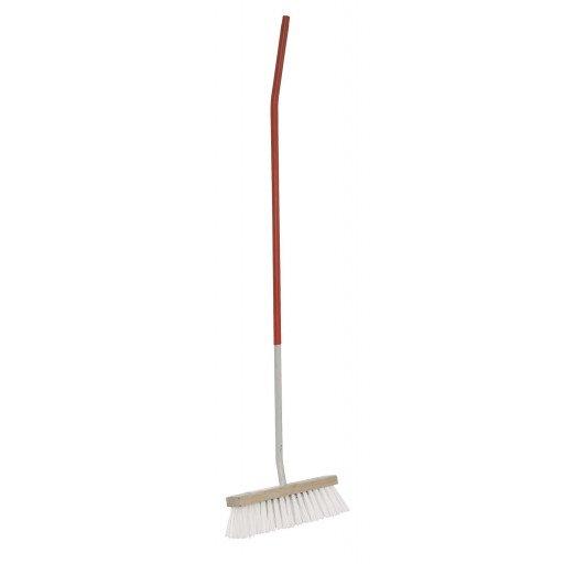 Water broom white bristles