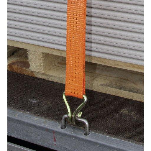 Lashing strap 2, 1000 x 5 cm orange, 4000 kg