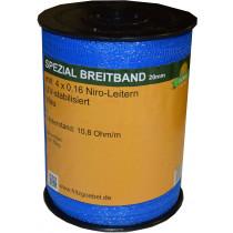 Spezial-Breitband 20mm 200m 4x0,16 Niro blau