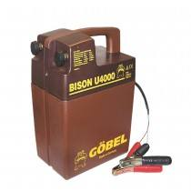 Bison U 4000, battery device, without a battery, for 9 and 12 volt operation
