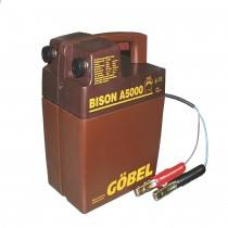 Bison A 5000, 12 volt battery device, without battery, with battery deep discharge protection