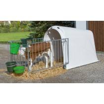 Calf House Master Plus, with fencing - calf Hutch with enclosure