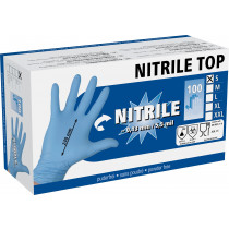 Nitriles all purpose gloves 5.5 mil, 100 pieces, size S