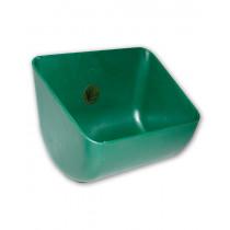Kunststoff Rechtecktrog 12 Liter grün