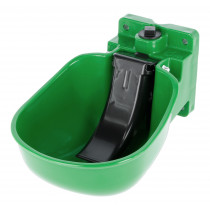 Drinking bowl plastic, blue or green
