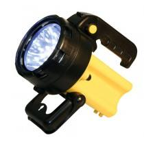 Searchlight battery, 36 LED, incl. power supply