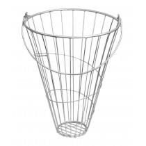 Galvanized feeder for poultry