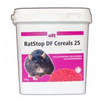 RatStop DF Cereal 25 ppm 3 kg Difenacoum Rattengift