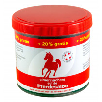 Horse ointment bucket makers 600 ml jar