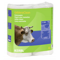 Udder paper, double, UdderoClean 2 x 200 sheets