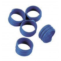 Chicken rings, blue, 20 piece Pack