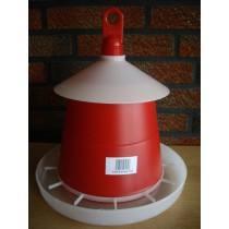 Poultry feeder 3 kg red - original Klaus