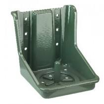 Green salt leak stone holder, PVC