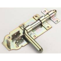 Install bolt with bolt lock, bright zinc-plated