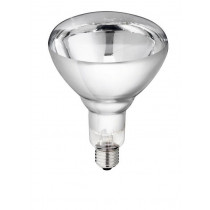 Philips infrared bulb 250 w White