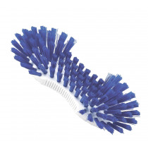 Pot brush with blue bristles, boilable