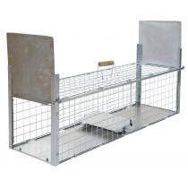 Box trap, 105 x 26 x 30 cm