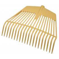 Raking leaves and foliage fork 20 tines, 45 cm wide