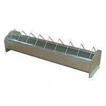Hen trough galvanized 75 cm