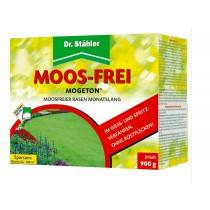 Mogeton ® Moss-free by Dr. Staehler, 900 g - 20 sachets containing per 45 g Moss remover - for months Moss-free lawn!