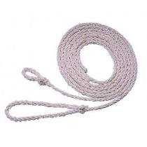 Poly rope 3.50 m, small loop, white