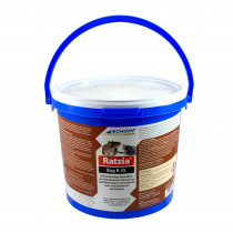 Ratzia Bag B 25 < 0,0029% 3kg Brodifacoum Rattengift Mäusegift Giftpaste