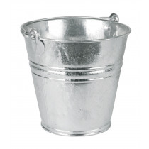 9 litres galvanized water buckets