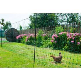 Poultry power 50 m; 112 cm, twin tip, green not connectible