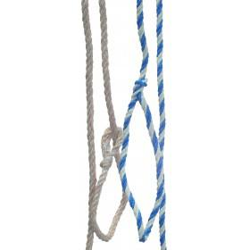 Rope 1.60 m, small loop, white