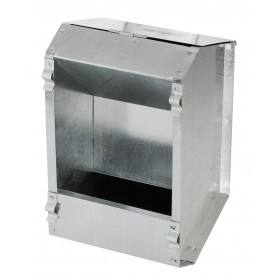 Rabbit feeder plate 1 place