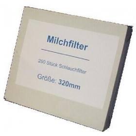 Milk filter 610 x 95, sewn, 10 x 100 PCs
