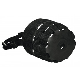Muzzle, nylon - black for Warmblood