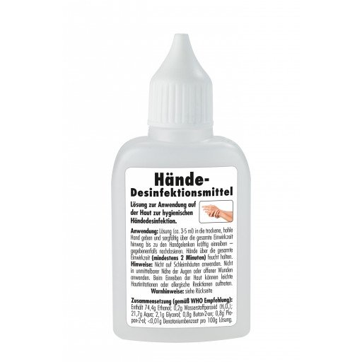 Sonax Händedesinfektionsmittel 50 ml - Desinfektionsmittel für Hände
